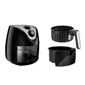 Kalorik 2.6 Qt. Eat Smart Air Fryer - Black