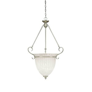 Millennium Lighting 3 Light Pendant - Satin Nickel