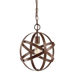 Millennium Lighting 1 Light Pendant - Rubbed Bronze
