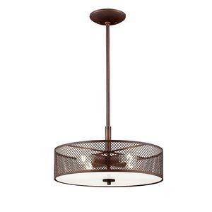Millennium Lighting 4 Light Akron Pendant- Oil-Rubbed Bronze
