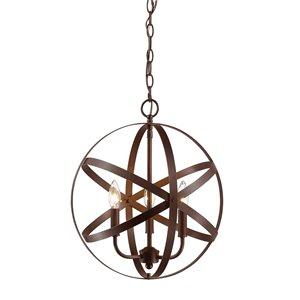 Millennium Lighting 3 Light Pendant- Oil-Rubbed Bronze