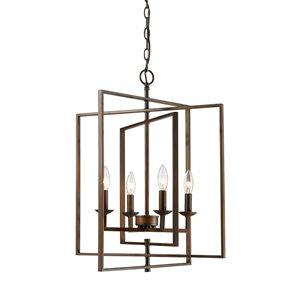 Millennium Lighting 4 Light Pendant- Oil-Rubbed Bronze