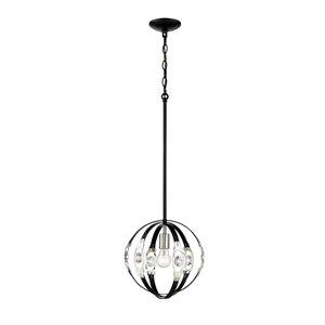 Millennium Lighting 1 Light Pendant - Matte Black