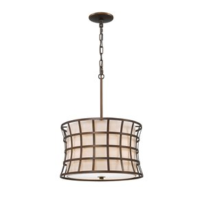 Millennium Lighting 3 Light Pendant - Oil-Rubbed Bronze