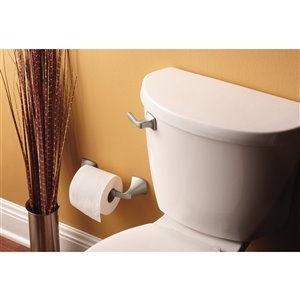 MOEN Voss Pivoting Toilet Paper Holder - Brushed Nickel