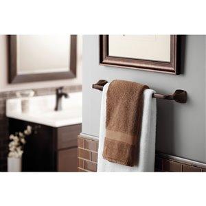 MOEN Voss Towel Bar - 24-in - Oil Rubbed Bronze
