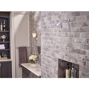 MOEN Dartmoor Bathroom Faucet - Chrome (Valve Sold Separately)