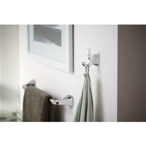 MOEN Voss Towel Bar - 18-in - Brushed Nickel