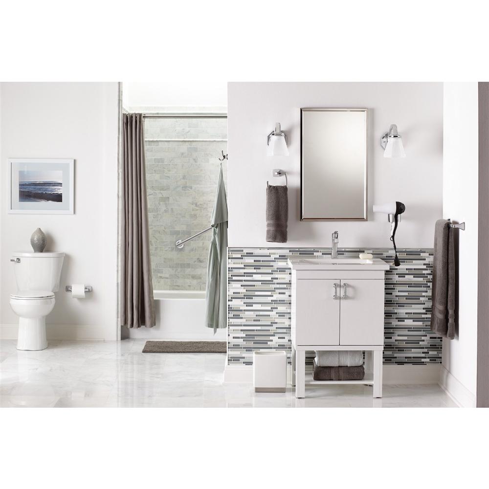 MOEN Voss Towel Bar - 9-in - Brushed Nickel