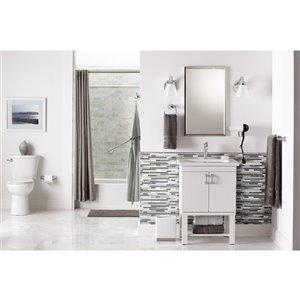 MOEN Voss Towel Bar - 24-in - Brushed Nickel