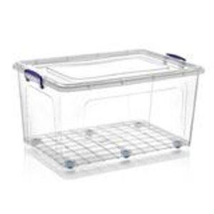 Superio Plastic Storage Box - 26.5-L