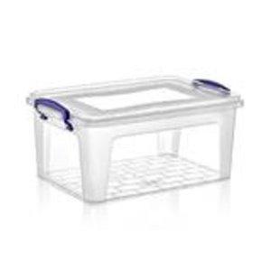 Superio Plastic Storage Box - 5.7-L