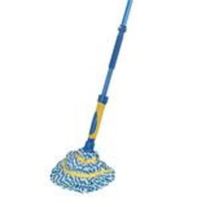 Superio Ultra Microfiber Twist Mop with Scrubber