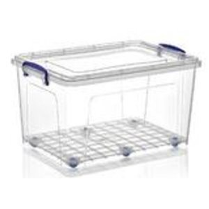 Superio Plastic Storage Box - 41.6-L