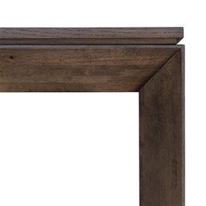 LH Imports Bradley Console Table - 47-in - Mocha