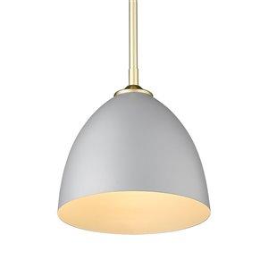 Golden Lighting Zoey Small Pendant Light - Gold