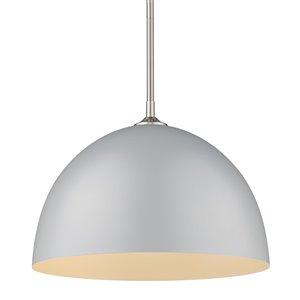 Golden Lighting Zoey Large Pendant Light - Pewter