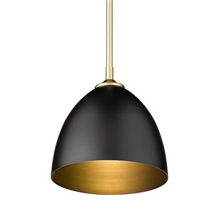Golden Lighting Zoey Small Pendant Light - Gold