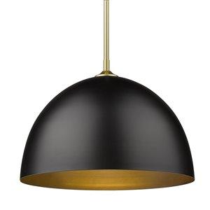 Golden Lighting Zoey Large Pendant Light - Gold