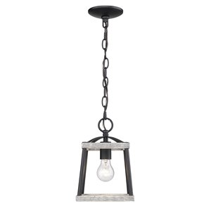 Golden Lighting Teagan Mini Pendant Light - Black