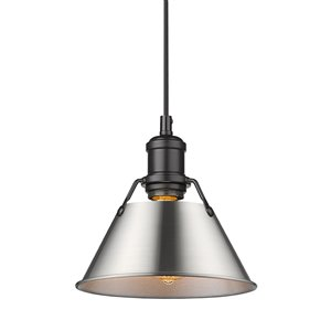 Golden Lighting Orwell Mini Pendant Light - Black
