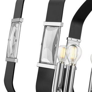 Golden Lighting Ariana 6-Light Pendant Light - Chrome