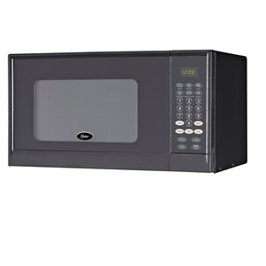 Oster Microwave - Black - 0.9 cu ft - 900 W