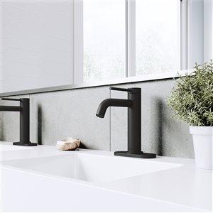 VIGO Madison Bathroom Faucet - Matte Black - Single Hole