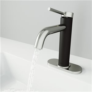 VIGO Madison Single Hole Bathroom Faucet - Brushed Nickel