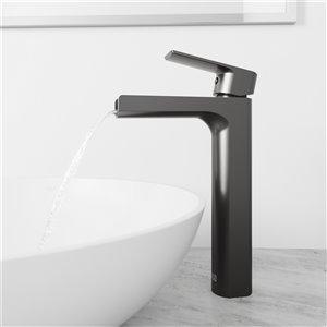 VIGO Amada Bathroom Faucet - Graphite Black