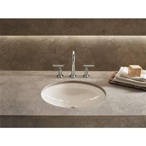KOHLER Canvas Under-Mount Bathroom Sink - White