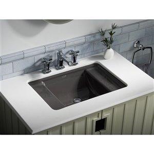 KOHLER Ledges Under-Mount Bathroom Sink - Off-White