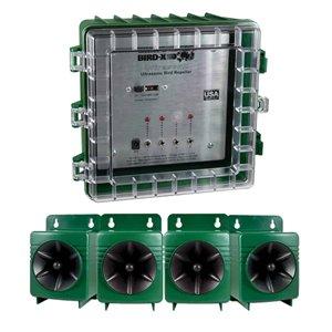 Bird -X Ultrason X Ultrasonic Bird Repeller Speaker System - 4-Speaker Kit