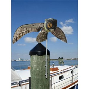 Bird-X Prowler Owl Decoy with Moving Wings
