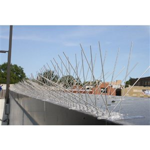 Bird-X Stainless Steel Bird Spikes - 2.5-in x 100-ft