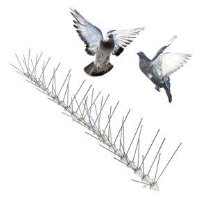 Bird-X Stainless Steel Bird Spikes - 10-ft Kit