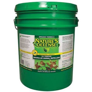 Bird-X Nature's Defense All-Purpose Animal Repellent - 50-lb