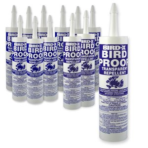 Bird-X Sticky Bird Repellent Gel - Pack of 12