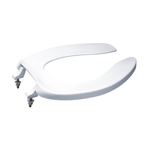 TOTO Commercial Toilet Seat with Lid - Elongated - White