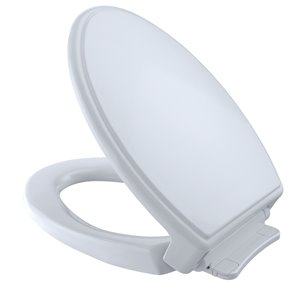 TOTO Traditional SoftClose Elongated Toilet Seat and Lid - Cotton