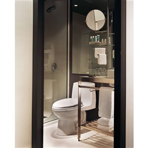 TOTO Eco UltraMax Elongated Toilet - Comfort Height -  Cotton White