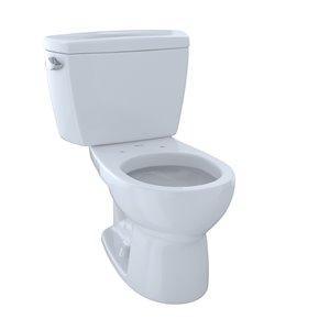 TOTO Drake Round Toilet - Standard Height -  Cotton White