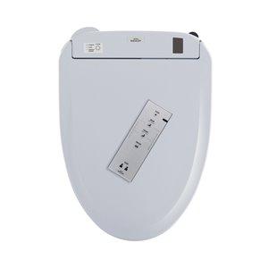 TOTO Washlet+ Auto Open Electronic Bidet Toilet Seat - Elongated - Cotton White