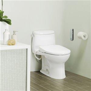 TOTO Washlet Auto Open Electronic Bidet Toilet Seat - Round - Cotton White
