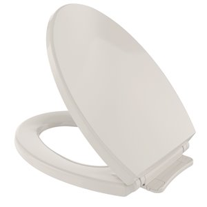 TOTO SoftClose Elongated Toilet Seat and Lid - Sedona Beige