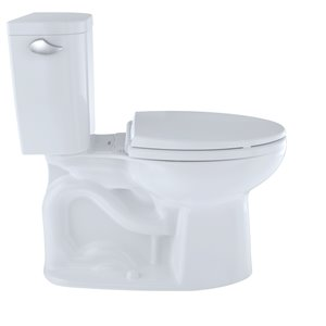 TOTO Entrada Elongated Toilet - Comfort Height -  Cotton White