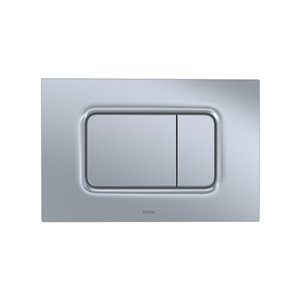 TOTO Push Button Plate for DuoFit In-Wall Tank System - Matte Silver