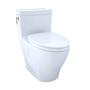 TOTO Aimes Elongated Toilet - Comfort Height -  Cotton White