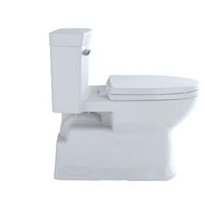 TOTO Soirée Elongated Toilet - Comfort Height -  Cotton White