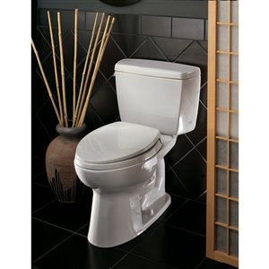 TOTO Drake Elongated Toilet - Comfort Height -  Cotton White